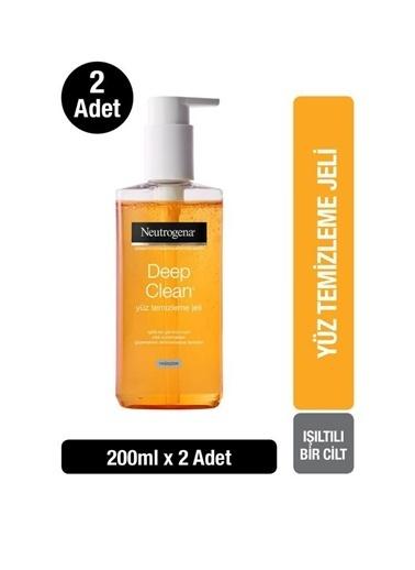 Neutrogena Deep Clean Yüz Temizleme Jeli 200 Ml X2 Renksiz